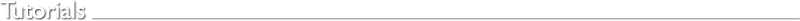 Tutorials by Richard Janes